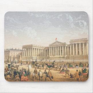The British Museum, c.1862 (colour litho) Mouse Pad
