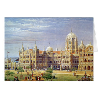 The British Raj Great Indian Peninsular Terminus Card