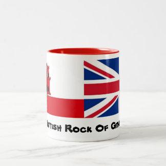 The British Rock Of Gibraltar Mug Design