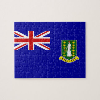 The British Virgin Islands Flag Jigsaw Puzzle