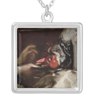 The Brooch of Infanta Margarita Maria Silver Plated Necklace
