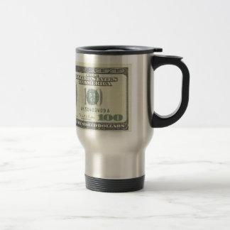 The Buck Stops Here- $100 Stainless Steel Travel Mug