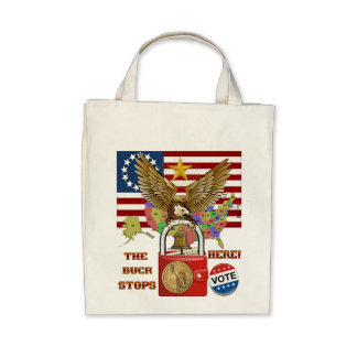 The-Buck-Stops-Here-1 Tote Bag