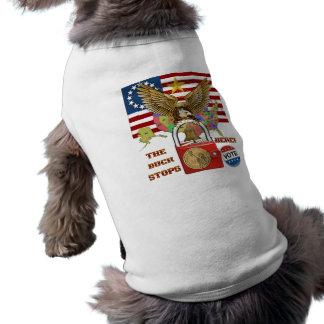 The-Buck-Stops-Here-1 Pet T-shirt