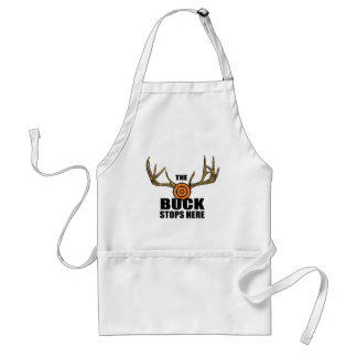 The Buck Stops Here Adult Apron