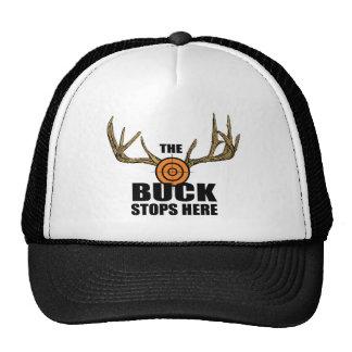 The Buck Stops Here Cap