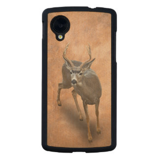 THE BUCK STOPS HERE CARVED® MAPLE NEXUS 5 SLIM CASE