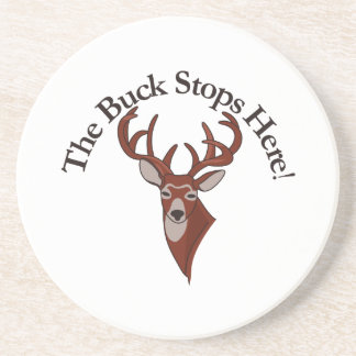 The Buck Stops Here! Coasters