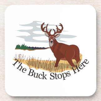 The Buck Stops Here Coasters