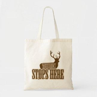 The Buck Stops Here Deer Hunter Bags