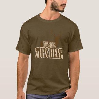 The Buck Stops Here Deer Hunter T-Shirt