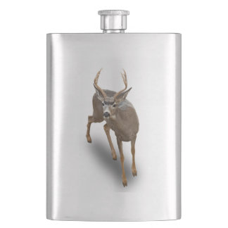 THE BUCK STOPS HERE HIP FLASK