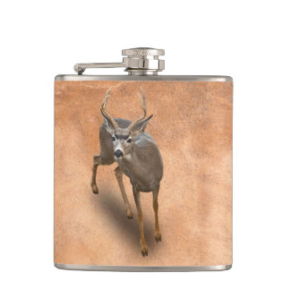 THE BUCK STOPS HERE HIP FLASKS