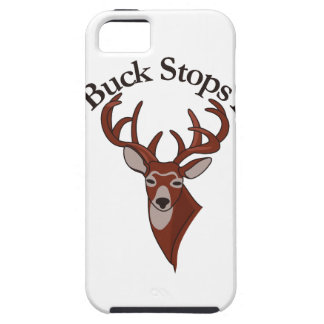The Buck Stops Here! iPhone 5 Covers