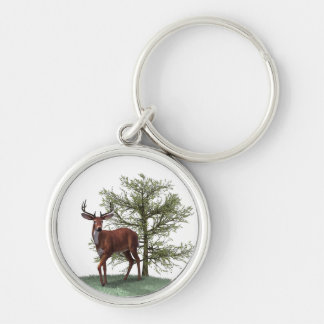The buck stops here keychain