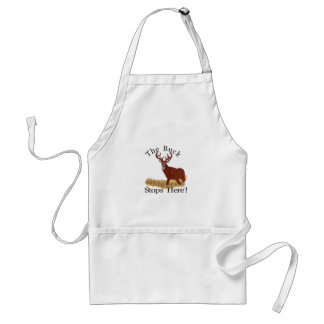 The Buck Stops Here! Standard Apron