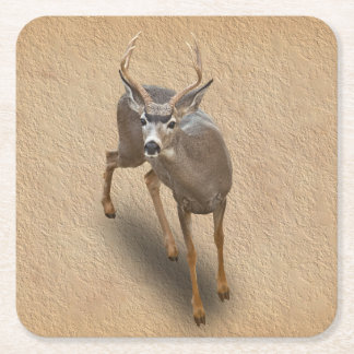 THE BUCK STOPS HERE SQUARE PAPER COASTER