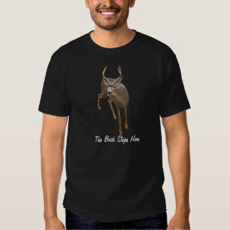THE BUCK STOPS HERE TEES
