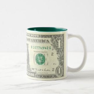 The Buck Stops Here Two-Tone Coffee Mug
