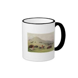 The Buffalo Hunt, c.1832 Coffee Mugs
