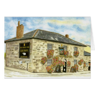 'The Bugle Inn' Card