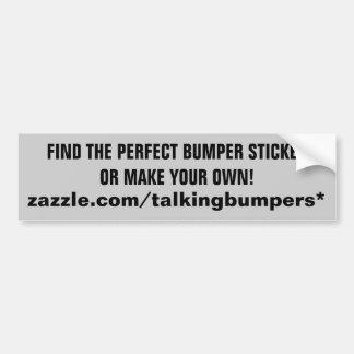 """""""The"""" Bumper Sticker Store at Zazzle"""
