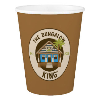 The Bungalow King - Paper Cups