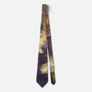 The Cafe by Pierre Renoir, Vintage Impressionism Tie