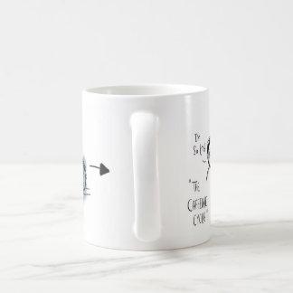 The Caffeine Cycle Basic White Mug