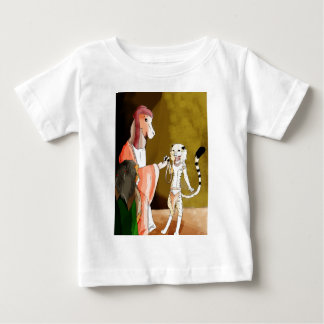 The Camel and the Cheetah Baby T-Shirt