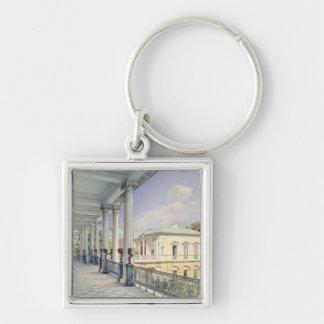 The Cameron Gallery at Tsarskoye Selo, 1859 Key Ring