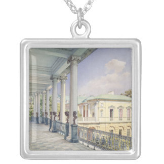 The Cameron Gallery at Tsarskoye Selo, 1859 Silver Plated Necklace