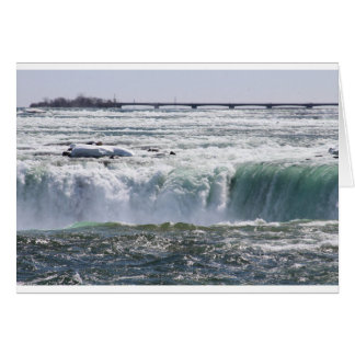 The Canadian Falls or Horseshoe Falls Card