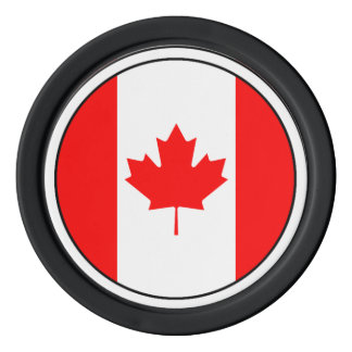 The Canadian Flag, Canada Poker Chips