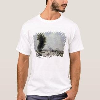 The Canal de l'Ourcq near Pantin, 1871 T-Shirt