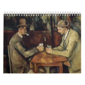 The Card Players by Paul Cézanne 1895 Calendars