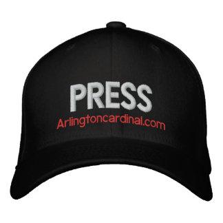 The Cardinal PRESS Hat Embroidered Baseball Cap