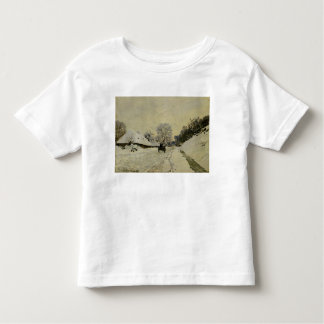 The Cart, or Road under Snow at Honfleur, 1865 Tshirts