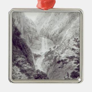 The Cascade of Minzapeezo Christmas Ornament