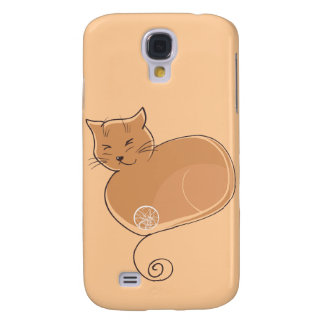 The Cat - Ginger Galaxy S4 Case
