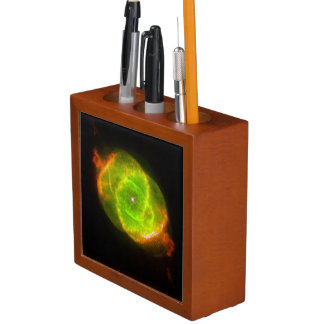 THE CAT'S EYE (an outer space design) ~ Pencil Holder