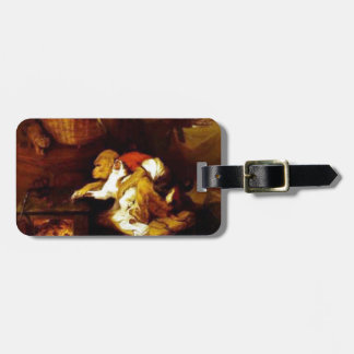 The Cat's Paw by Edwin Henry Landseer Luggage Tag