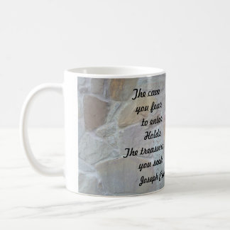 """THE CAVE YOU FEAR TO ENTER MUG"" COFFEE MUG"
