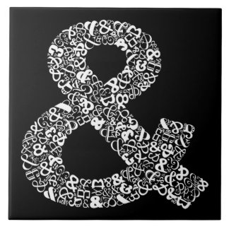 The Character Ampersand Tile