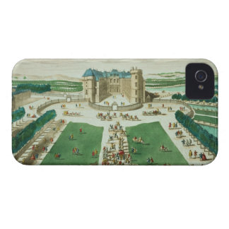 The Chateau Rambouillet, engraved by Antoine Aveli iPhone 4 Cover