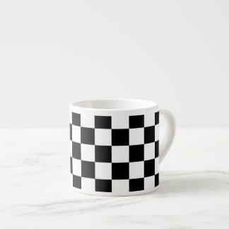 The Checker Flag Espresso Mug