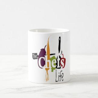 The chef's life coffee mug