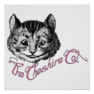 The Cheshire Cat Poster