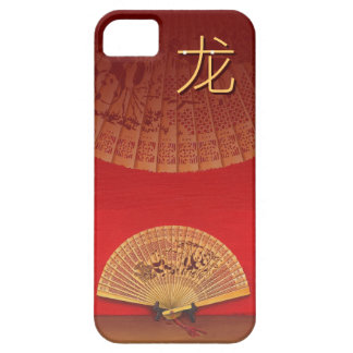 "The Chinese fan - Zodiac sign ""dragon, 龙"" iPhone 5 Cover"