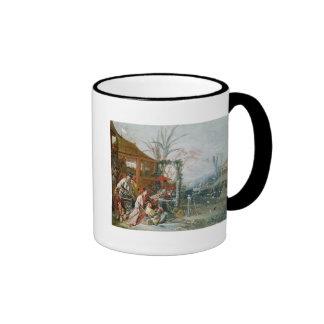 The Chinese Hunt, c.1742 Mugs